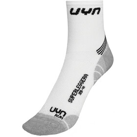 UYN Run Superleggera Calze Uomo, bianco/grigio